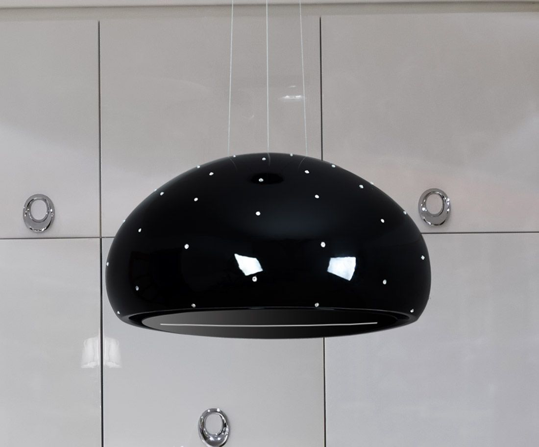Ceramic Swarovski Black